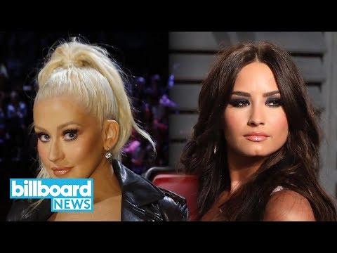 Christina Aguilera & Demi Lovato to Debut 'Fall In Line' at BBMAs | Billboard News
