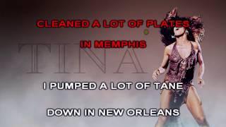 Tina Tuner - Proud Mary Karaoke