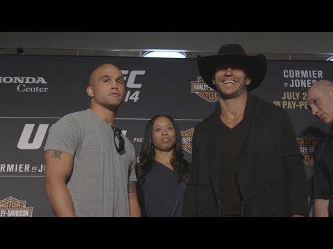 Medialne twarzą w twarz uczestników UFC 214