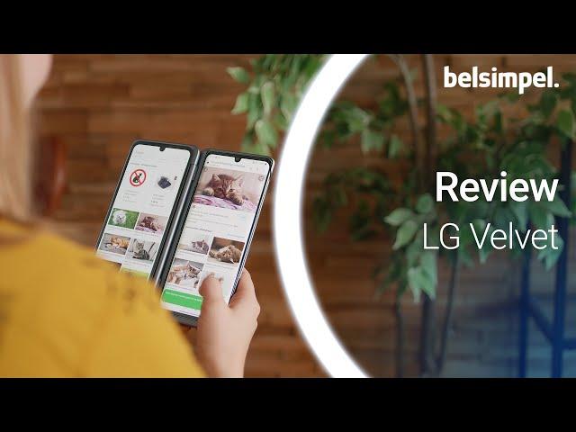 Belsimpel-productvideo voor de LG Velvet Green
