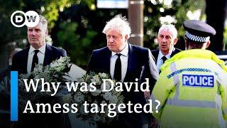 Stabbing of UK lawmaker Amess declared a 'terrorist incident'   DW News