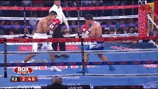 Jaime Munguia vs Jose Carlos Paz Tv Azteca