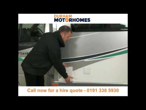 Motorhome hire and campervan rental Durham - Call 0191 338 5930