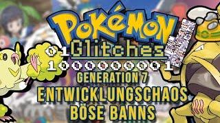 Lets Glitch in Pokemon Sonne Mond | Böse Banns & Entwicklungsfehler