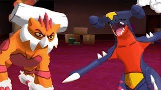 Landorus OR Garchomp? - Pokemon SUN and MOON WiFi Battle #82: 6fthax VS HarrisisAwesome (1080p)