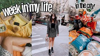 "WEEK IN MY LIFE in city | work, friends, exploring the city + feeling ""stuck"""