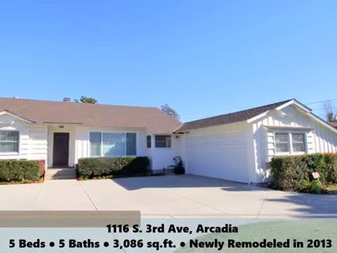 John Man Group Home for Sale: 1116 S. 3rd Ave, Arcadia