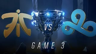 FNC vs C9 | Semifinal Game 3 | World Championship | Fnatic vs Cloud9 (2018)
