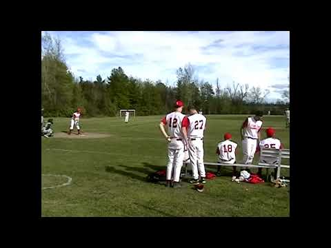 Chazy - Schroon Lake Baseball game one  May, 2006