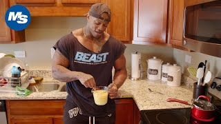 What Physique Champions Eat for Breakfast | Brandon Hendrickson's Pre-Olympia 1st Meal