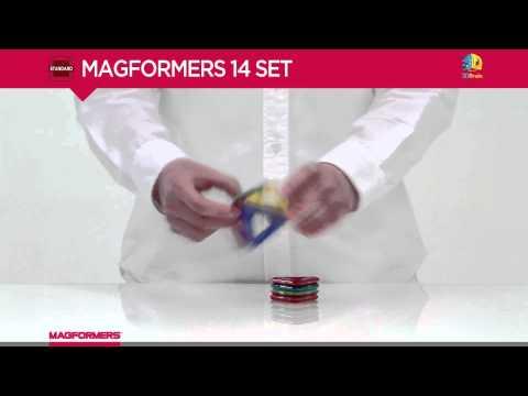 Magformers 14 - Basic Magnetic Construction Set