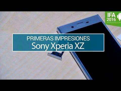Sony Xperia XZ, primeras impresiones en IFA