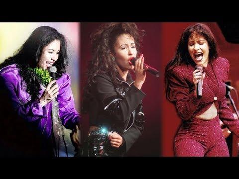 Selena Como La Flor Intro 1993 VS 1994 VS 1995