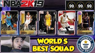 WE HAVE THE WORLD'S BEST TEAM EVER MADE IN NBA 2K19 MYTEAM