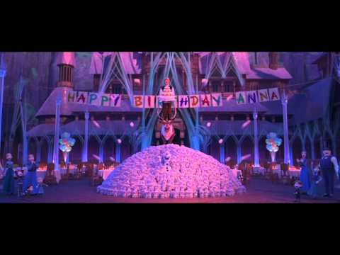 joyeux anniversaire chanson reine des neiges