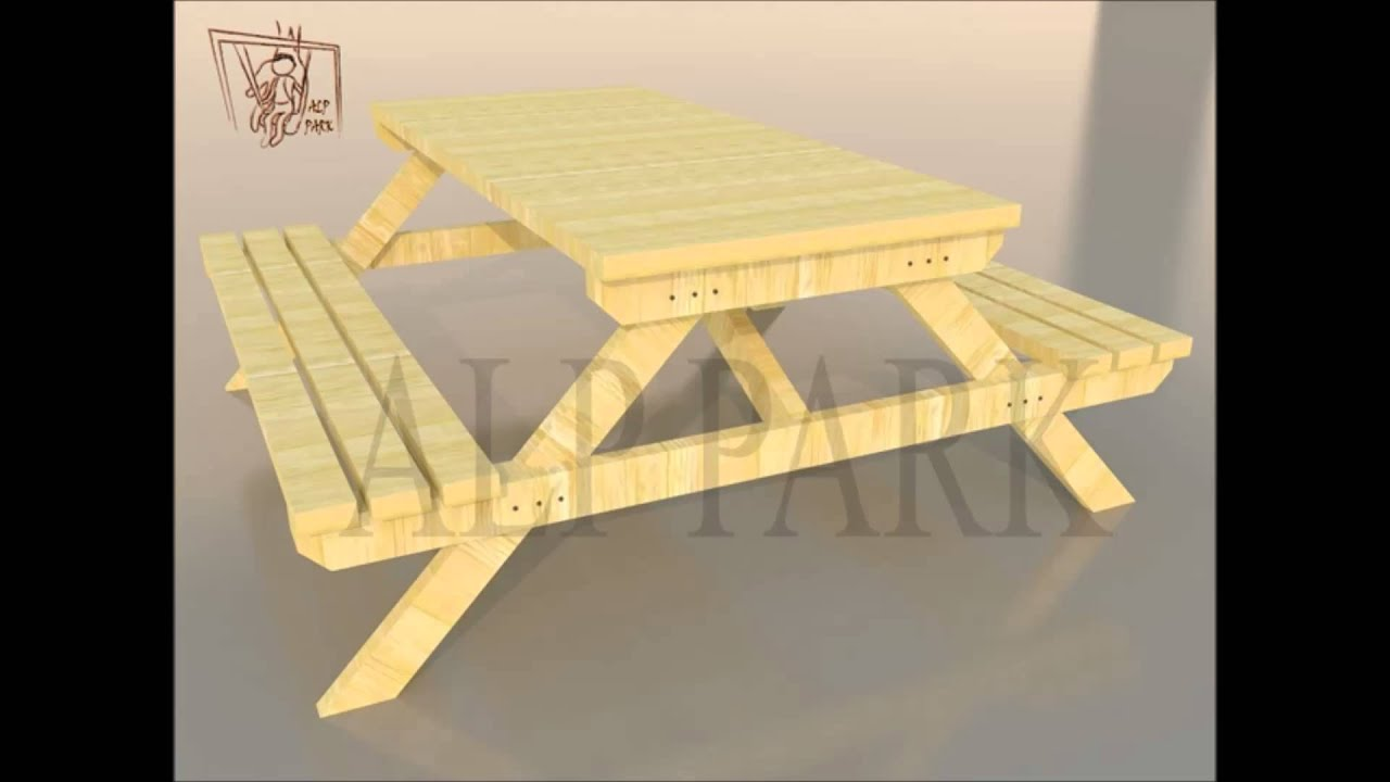 kent mobilyaları.mp4 - kamelya - piknik masası- oturma bankları