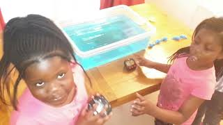 Childrens Day Sister's water challenge