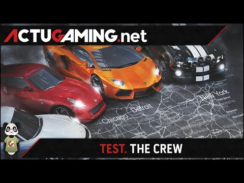 TEST. The Crew - Le MMO Jeu de course signé Ubisoft - YouTube