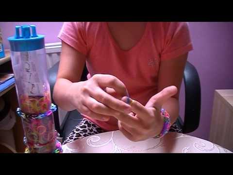 Bransoletki z gumek na palcach - poradnik
