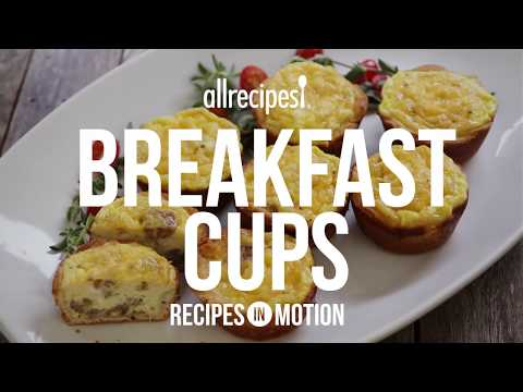 Sausage Recipes - How to Make Breakfast Cups
