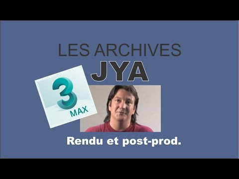 Rendu & Post prod avec 3dsMAX 5/5