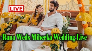 Rana weds Miheeka - Live in Virtual Reality..