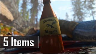 Skyrim: 5 More Extremely Rare and Secret Items, that are Utterly Useless in The Elder Scrolls 5