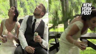 Snimao je mladu i mladoženju prije svadbe. Kada su pogledali prema nebu, uslijedio je ŠOK! (VIDEO)