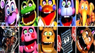 Ultimate Custom Night ALL JUMPSCARES