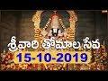 శ్రీవారి తోమాల సేవ   Srivari Thomala Seva   15-10-19   SVBC TTD