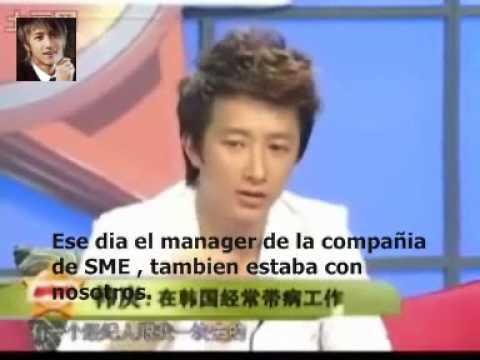 HanGeng/Hankyung habla sobre SME!Sub Español