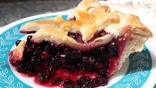 How To Make Blueberry Pie With a Perfect Crust
