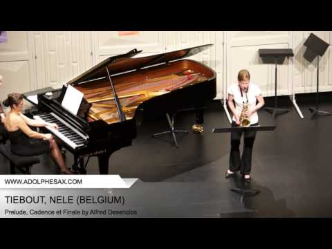 Dinant 2014 - TIEBOUT, NELE - Prelude, Cadence et Finale by Alfred Desenclos
