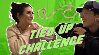 TIED UP CHALLENGE!! | Alanah Cole