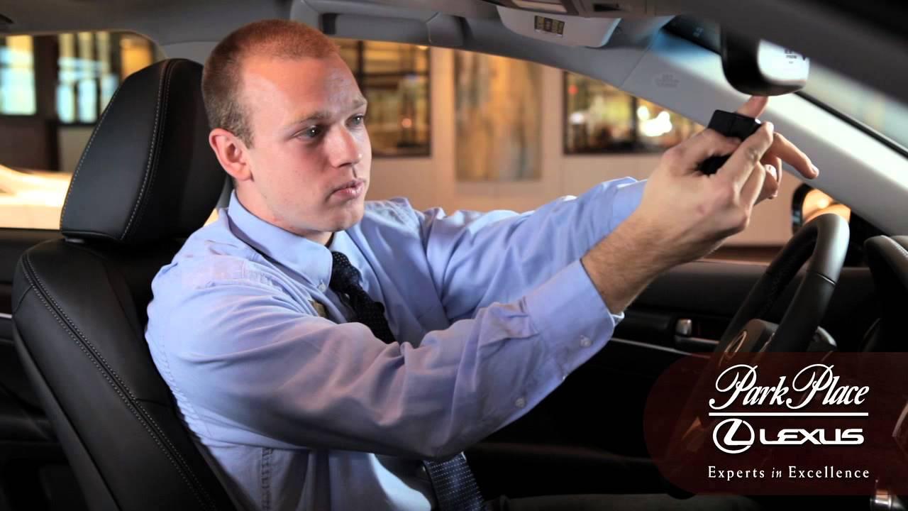 Lexus How To: Set-Up Lexus Homelink With Your Garage Door Opener - YouTube