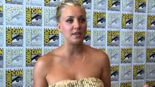 Kaley Cuoco and Johnny Galecki on 'Big Bang Theory' romance