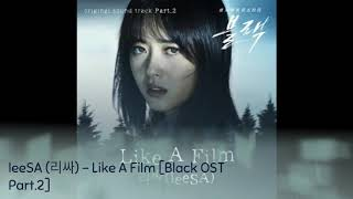 leeSA (리싸) – Like A Film [Black OST Part.2]