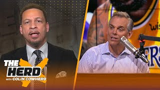 Chris Broussard on Lakers' tumultuous season, says Lue wants 'big money' to coach | NBA | THE HERD