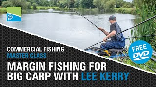 A thumbnail for the match fishing video Margin Fishing For BIG Carp With Lee Kerry - Commercial Fishing Masterclass FREE DVD