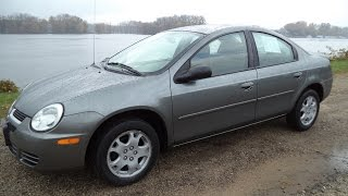 Test Driving A 2005 Dodge Neon