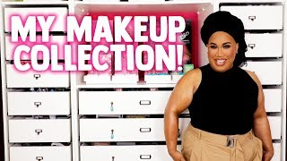 MY MAKEUP COLLECTION & ORGANIZATION | PatrickStarrr
