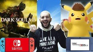 ¡¡¡DARK SOULS 2 Y 3 EN SWITCH Y DETECTIVE PIKACHU EN 3DS!!! - Sasel - Noticias - Español - Nintendo