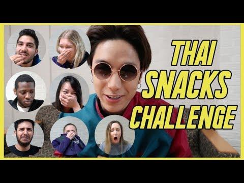 ขนมไทย VS ฝรั่ง Thai Snacks Challenge!! | KAYAVINE