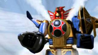 Hurricanger gattai Part 4