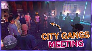 NoPixel GANG WAR MEETING, SHROUD RUNS INTO THE SBSO | GTA 5 RP Funny Moments/Highlights 143