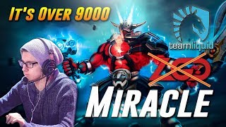 Miracle It's Over 9000 SVEN - Dota 2 Pro MMR Gameplay