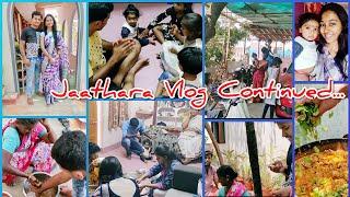#Vlog   Jaathara   Family Fun  Rasam Recipe   Chicken Curry   AshaSudarsan Telugu Vlogs
