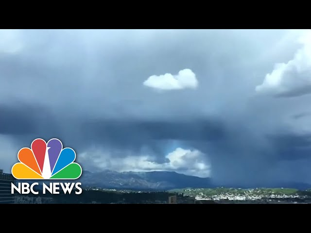 First Snowstorm In Decades Hits Los Angeles | NBC News