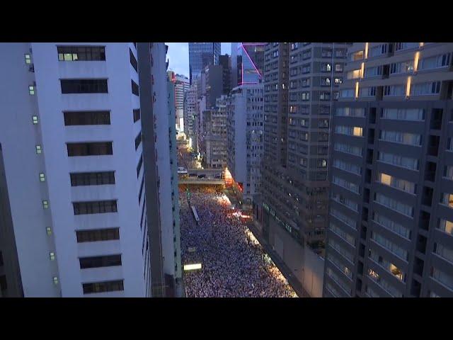 反送中百萬人遊行兩週年 民團籲政府完善援港機制