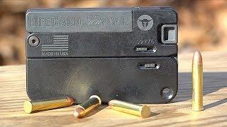 LifeCard Pistol now in 22WMR! (22 Magnum)